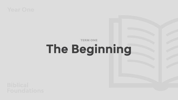 Term 1 - The Beginning logo image