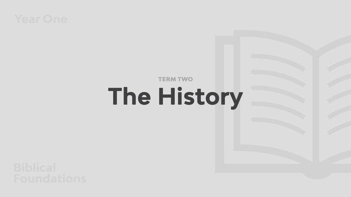 Term 2 - The History logo image
