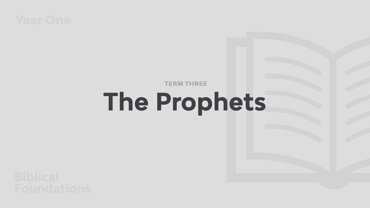 Term 3 - The Prophets logo image