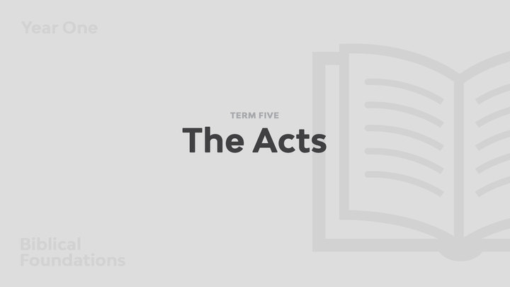 Term 5 - The Acts logo image