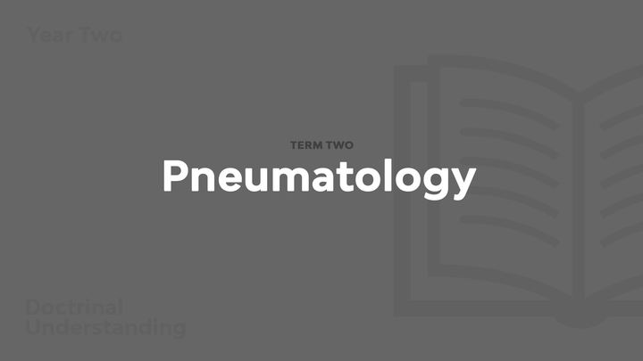 Term 2 - Pneumatology logo image