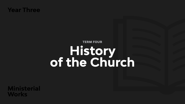 Term 4 - History of the Church logo image