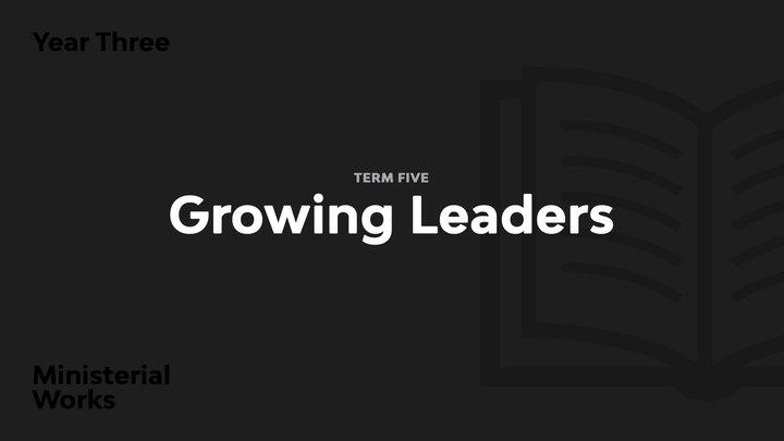 Term 5 - Growing Leaders logo image