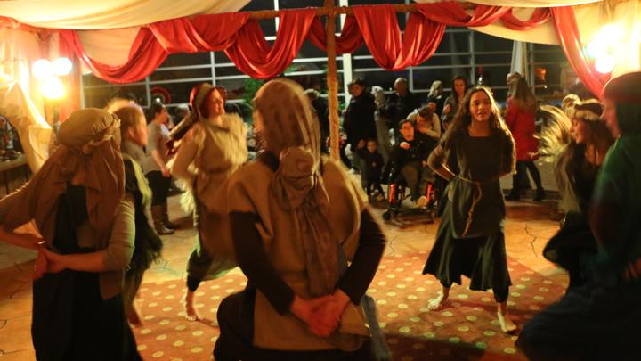 Dancer for Streets of Bethlehem Registration logo image