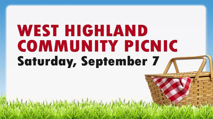 West Highland Community Picnic logo image