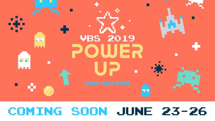 Power Up VBS logo image