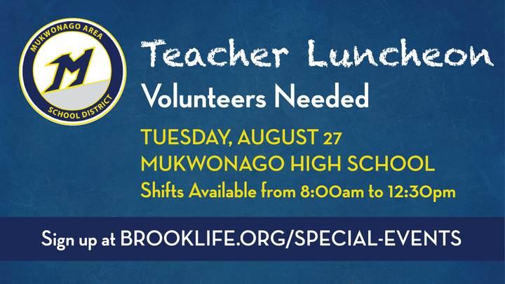 MASD Teacher Luncheon Volunteers logo image
