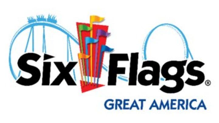 Six Flags  logo image