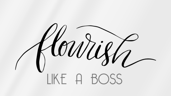 Flourish Like a Boss logo image