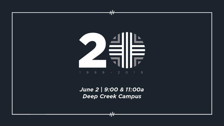 20th Anniversary Volunteers | June 2 logo image