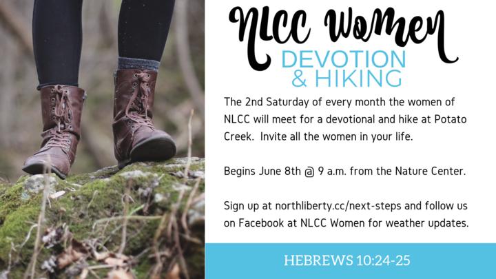 NLCC Women's Devotional & Hike at Potato Creek logo image