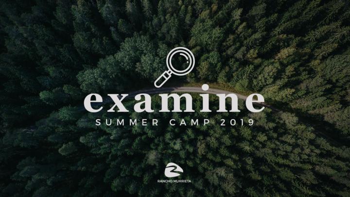 Rancho Murrieta Youth Ministry Summer Camp 2019 logo image