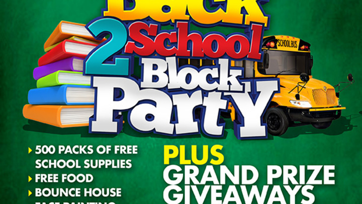 Back to School Block Party logo image