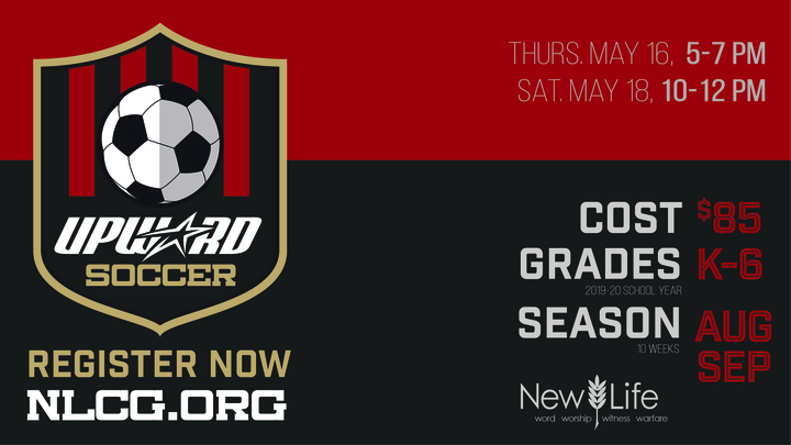 Upward Soccer 2019 logo image