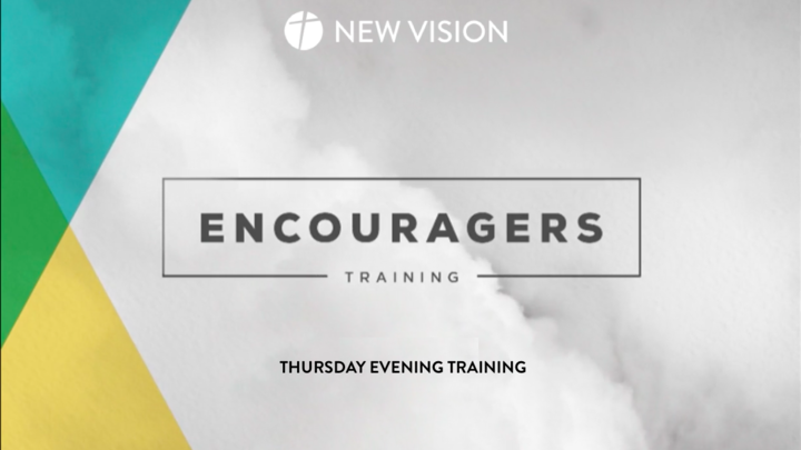 Encouragers Counselor Training - Thursday PM in Room M6 (upstairs Mezzanine) logo image