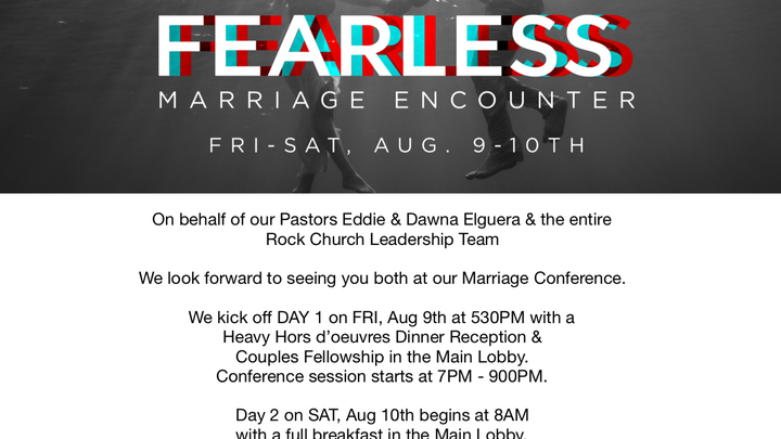 Fearless Marriage Encounter logo image