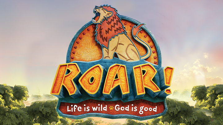 2019 VBS Day Camp - Roar! logo image