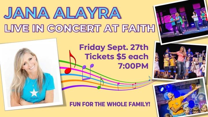 Jana Alayra Kids Concert logo image