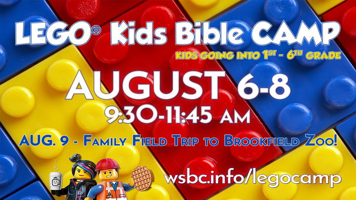 LEGO® KIDS BIBLE CAMP 2019 logo image
