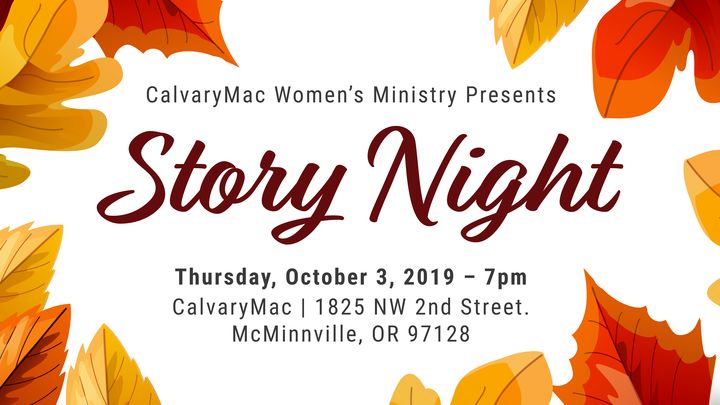 Story Night: Fall logo image