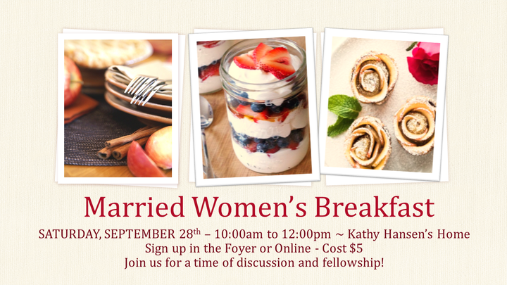 Married Women's Breakfast - September logo image