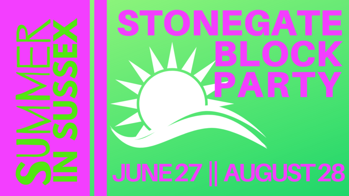Stonegate Block Party logo image