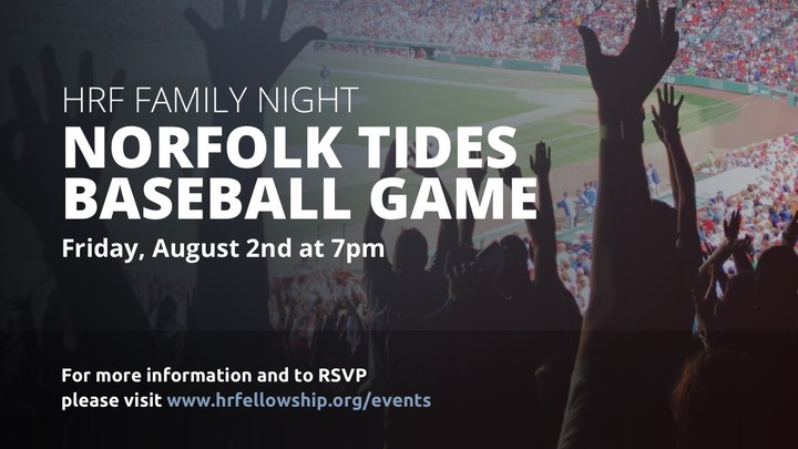 HRF Family Night - Norfolk Tides Game logo image