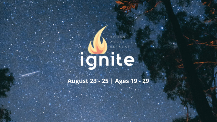 Ignite Young Adults Retreat logo image