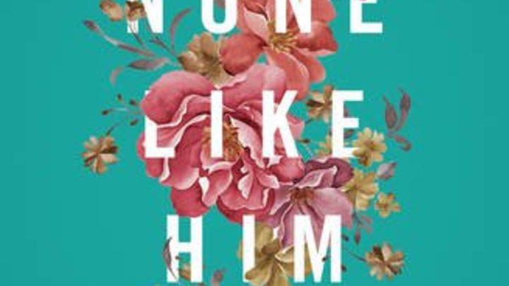 "Book Club: ""None Like Him"" logo image"