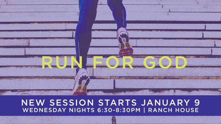Run for God Summer 2019  logo image