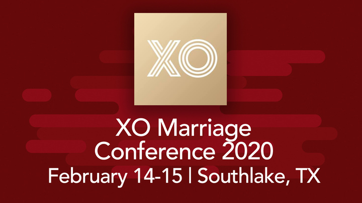 XO Marriage Conference 2020 logo image