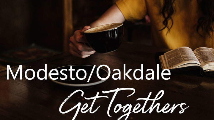 Small Group Get Together - Modesto/Oakdale, CA (July 13, 2019) logo image
