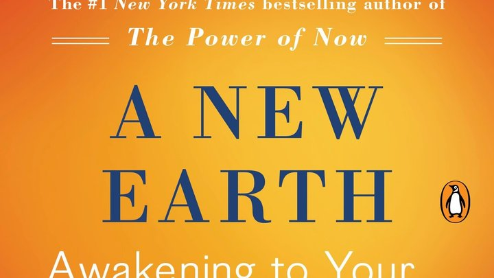 "Book Group - ""A New Earth"" by Eckhart Tolle logo image"