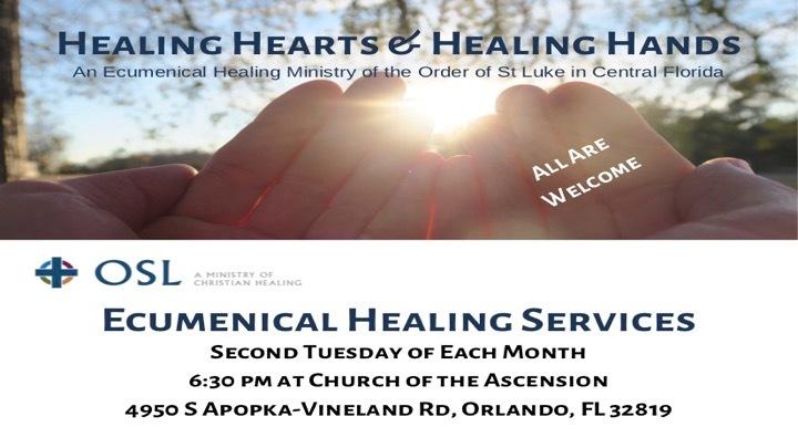 Ecumenical Healing Service logo image
