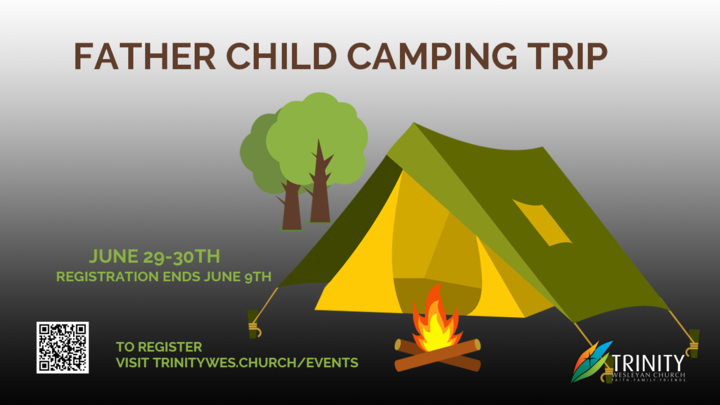 Father/ Child Camping Trip  logo image