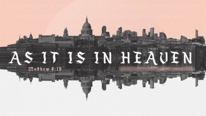 As It Is In Heaven - Young Adults Getaway  logo image