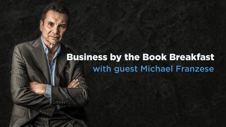 Business by the Book Breakfast logo image