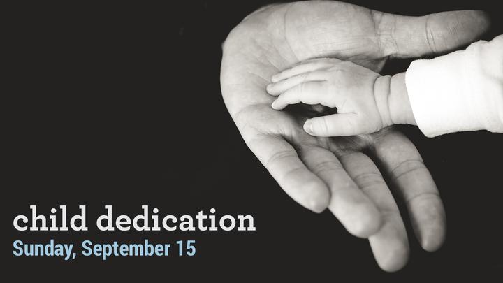 Child Dedication • September 15, 2019 logo image
