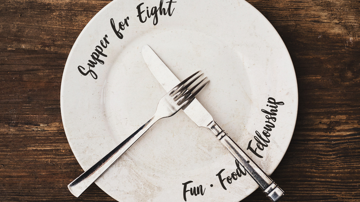 Supper for Eight logo image