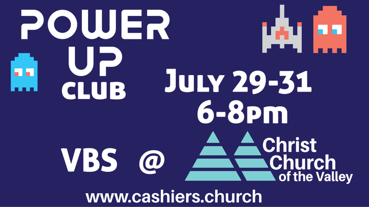 Power Up Club: VBS Event at Christ Church of the Valley logo image