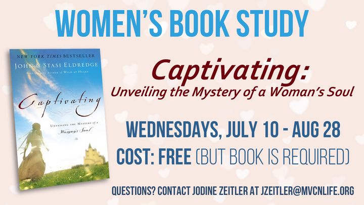 Captivating Women's Bible/Book Study logo image