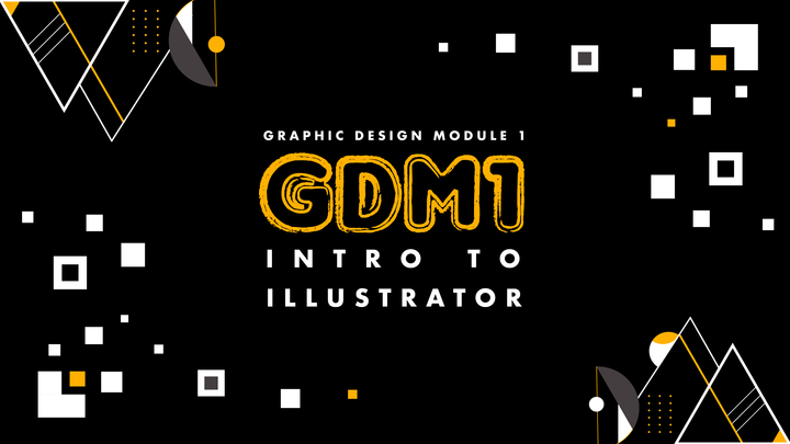 Graphic Design Module 1- Intro to Illustrator logo image
