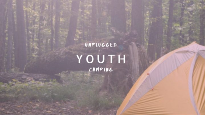 Youth Unplugged Camping Trip  logo image