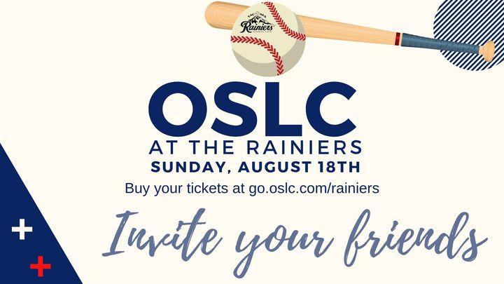 OSLC at the Rainiers logo image