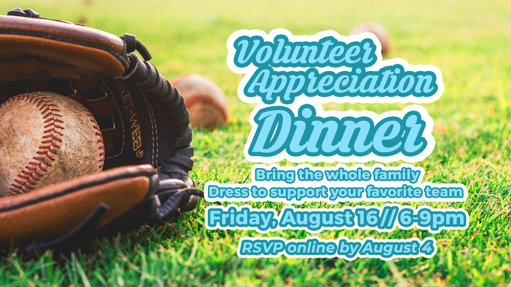 Latham Volunteer Appreciation Event: Take me out to the ball game! logo image