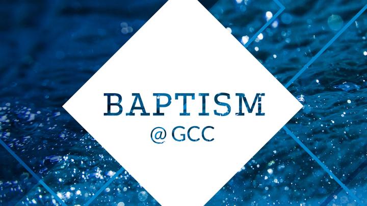 Baptism@GCC logo image