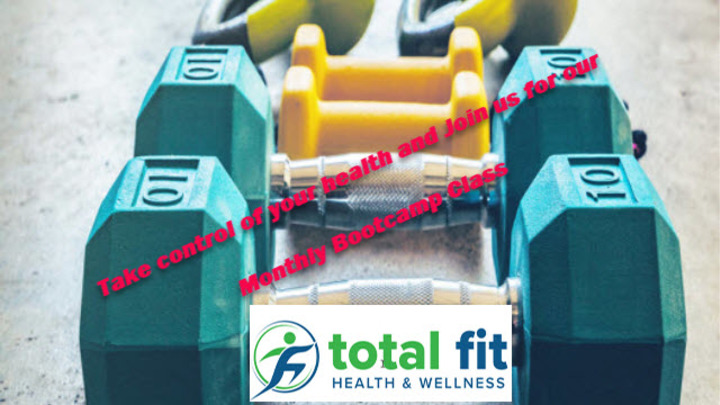 Total Fit Ministry Monthly Bootcamp Class logo image