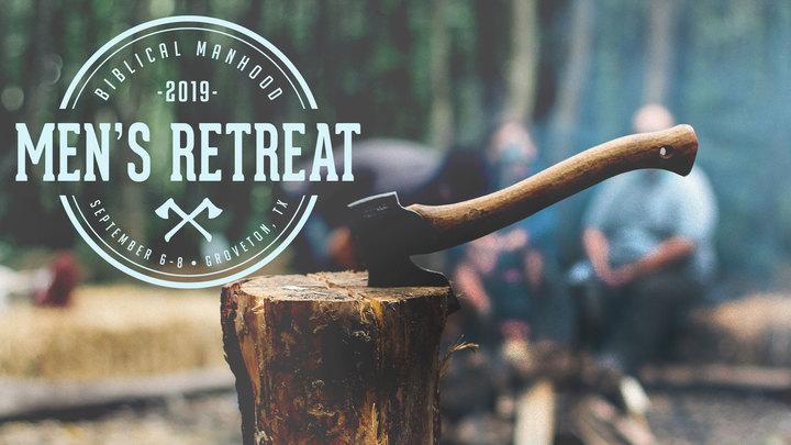 2019 Biblical Manhood Men's Retreat logo image