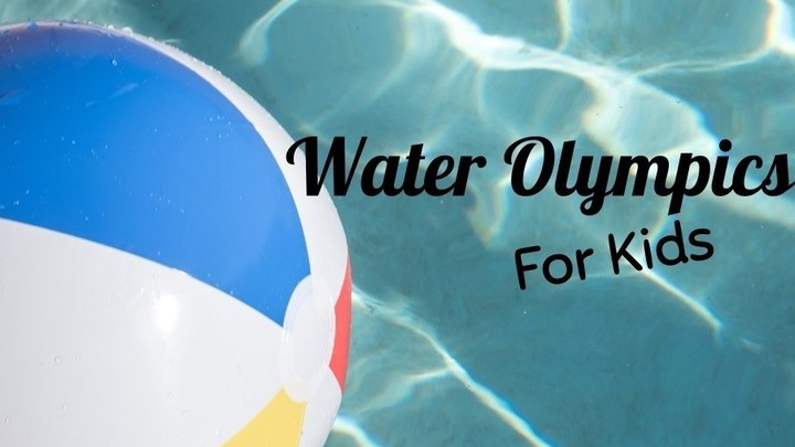 Children's Ministry Water Olympics logo image
