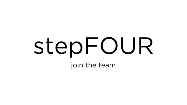 Growth Track - stepFOUR // join the team logo image